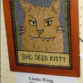 crop art kitty