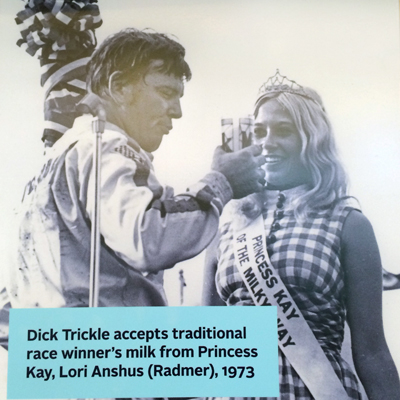 Dick Trickle and Princess Kay