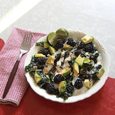 kale breakfast bowl